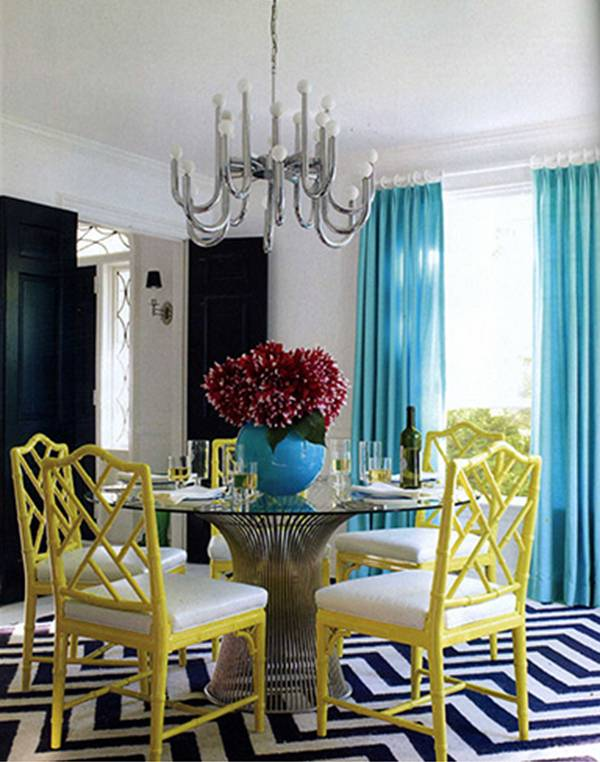 Turquoise Dining Room Chairs
